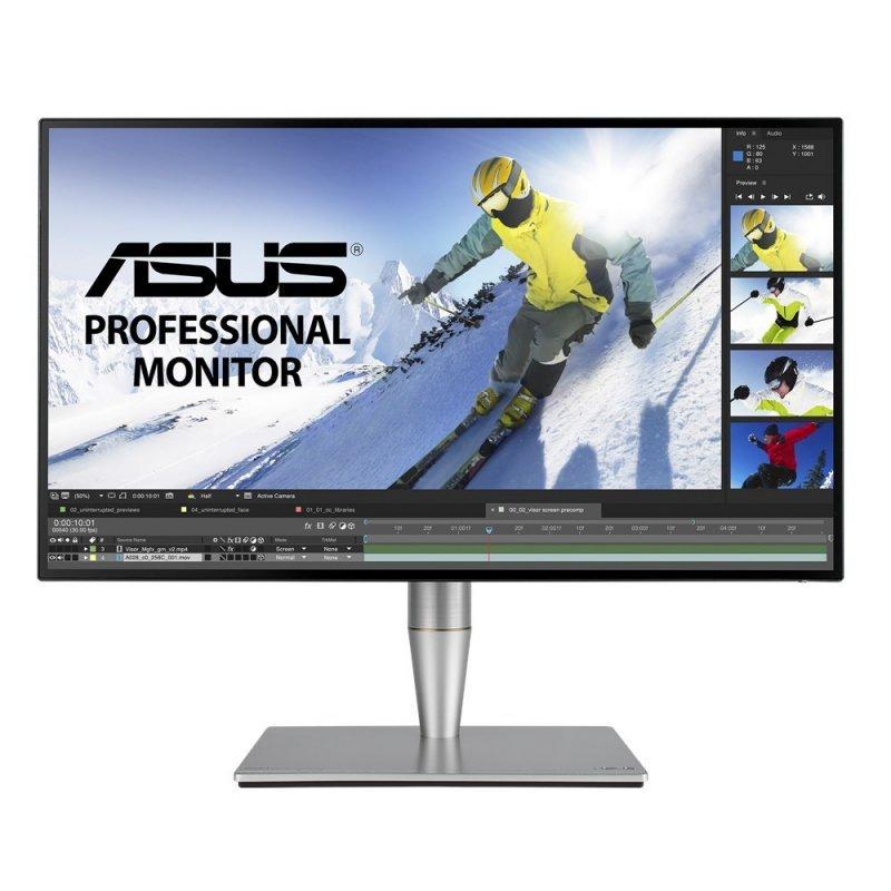 Asus Monitor 27 PA27AC IPS WQHD 2560x1440 400nit HDR10 sRGB Thunderbolt3 HDMI DP 2xUSB-C 3xUSB3.0 GŁOŚNIK PIVOT REG.WYS. 3Y PUR