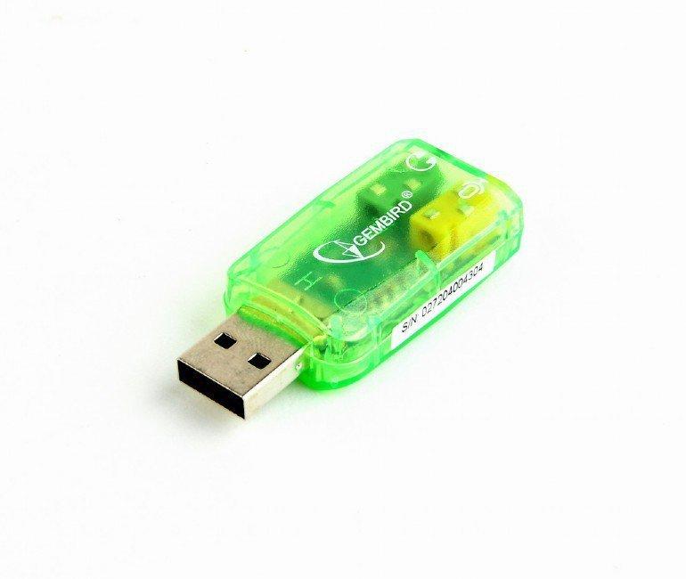 Gembird Karta dzwiekowa Virtus SC-USB-01