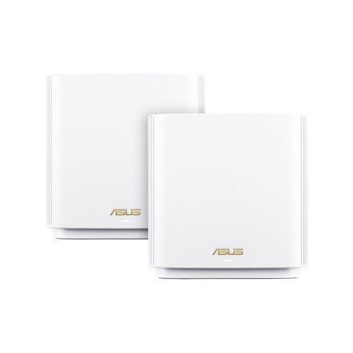 Asus Zestaw ZenWiFi XT8 AX6600 2-pack biały