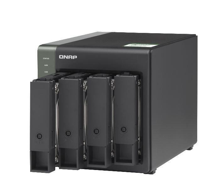 QNAP Serwer NAS TS-431KX-2G 1.7GHz 10Gb E SFP+ 2GB RAM