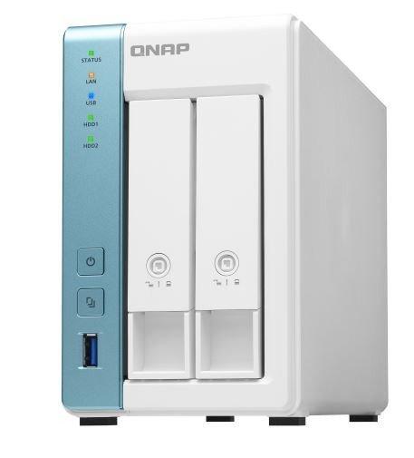 QNAP Serwer TS-231P3-2G AlpineAL314 1,7GHZ 2GB SO-DIMM DDR3