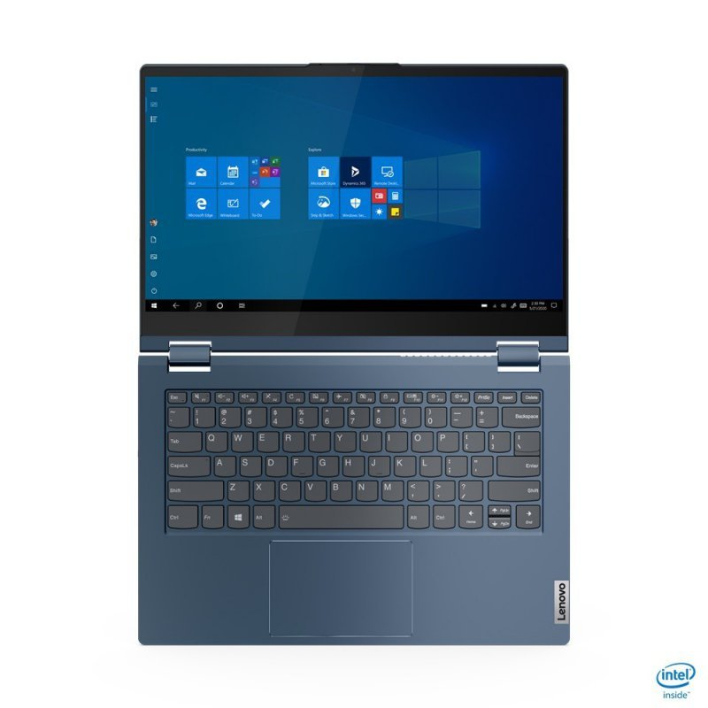 Lenovo Laptop ThinkBook 14s Yoga 20WE0021PB W10Pro i5-1135G7/16GB/512GB/INT/14.0 FHD/Touch/Abyss Blue/1YR CI