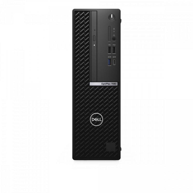 Dell Komputer Optiplex 7080 SFF/Core i7-10700/8GB/256GB SSD/Integrated/DVD RW/Wireless Kb & Mouse/W10Pro