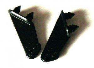 Dźwignie steru typ 3, 1mm, Czarne, 2 szt