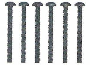 Śruba z łbem kulistym  M3x30 6 szt. - 10477