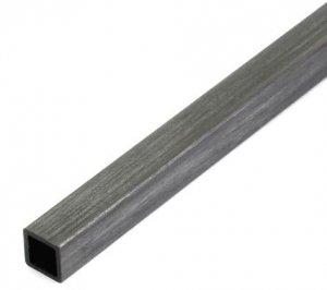 Profil węglowy kwadratowy 8,0/8,0 x 1000 mm otwór 6,5 mm