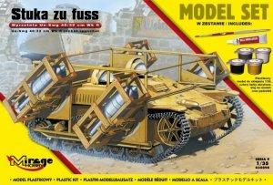 STUKA zu FUSS wyrzutnia UE-sWG 40/32cm Wk Fl