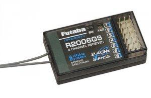 Odbiornik Futaba R2006GS 2.4GHz 6CH S-FHSS