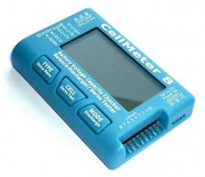 Tester serwo i pojemności pakietów LiPo/LiFe/Li-Ion 2-7S i NiCd/NiMH 4-7C
