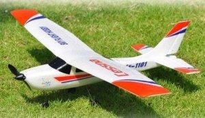 Mini Cessna 182 2CH 2.4GHz RTF POSERIWSOWY (Uszkodzona elektronika)