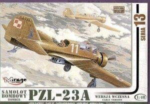 PZL-23A KARAŚ Polski Samolot Bombowy - wersja wczesna
