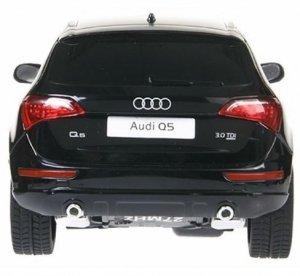 Audi Q5 RASTAR 1:24 RTR (zasilanie na baterie AA) - Czarny