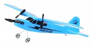 Piper J-3 CUB 2.4GHz RTF (rozpiętość 34cm) - niebieski