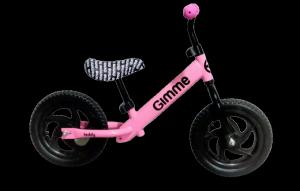 Rowerek biegowy Teddy - różowy