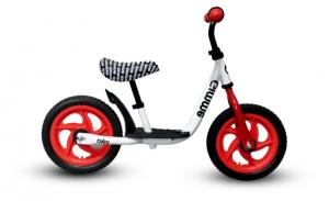 Rowerek biegowy z podestem Viko - czerwony