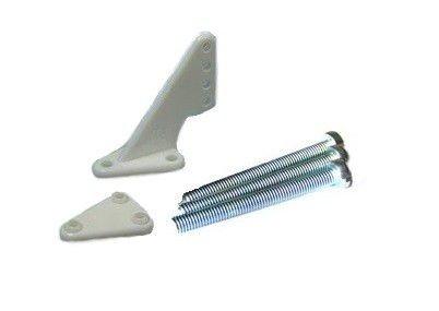 Dźwignia steru mała krótka 1,6mm, Biała, 2 zestawy