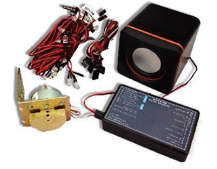 Zestaw oświetlenia i systemu dźwiękowego do samochodów RC