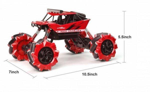 Drift Climber 4WD 1:16 2.4Ghz RTR - Czerwony