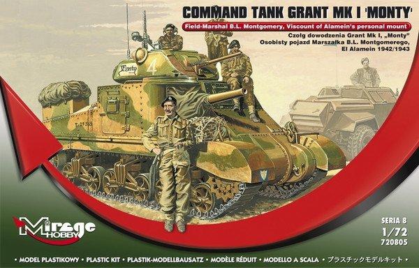 """Czołg dowodzenia Grant Mk I """"Monty"""""""