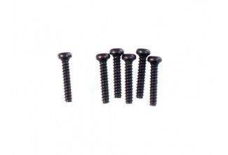 Śruby samogwintujące z zaokrągloną główką 2x10 6 szt.  - 10238