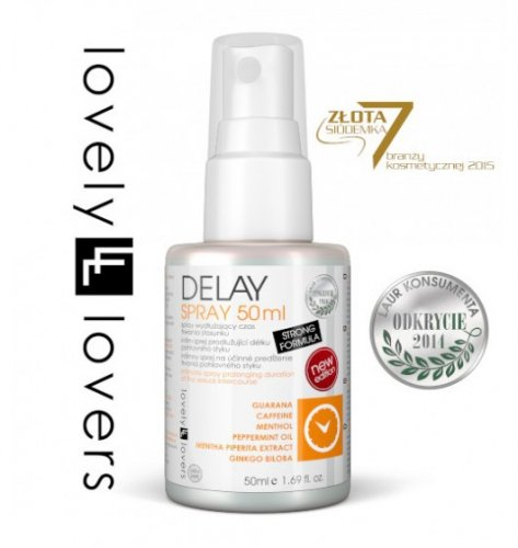 Lovely Lovers DELAY Spray 50 ml