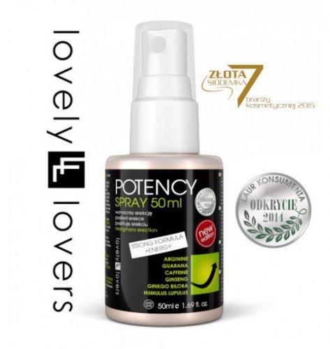 Lovely Lovers POTENCY Spray 50 ml