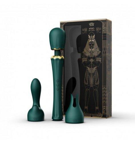 Zalo Kyro Turquoise Green- Masażer Różdżkowy