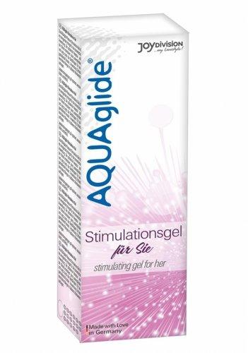 Żel-AQUAglide - żel stymulujący dla kobiet  25 ml