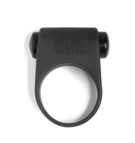 Wibrujący pierścień Fifty Shades of Grey - Feel it, baby!