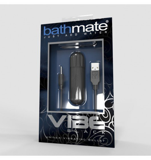 Pocisk wibrujący - Bathmate - Vibe Bullet (czarny)