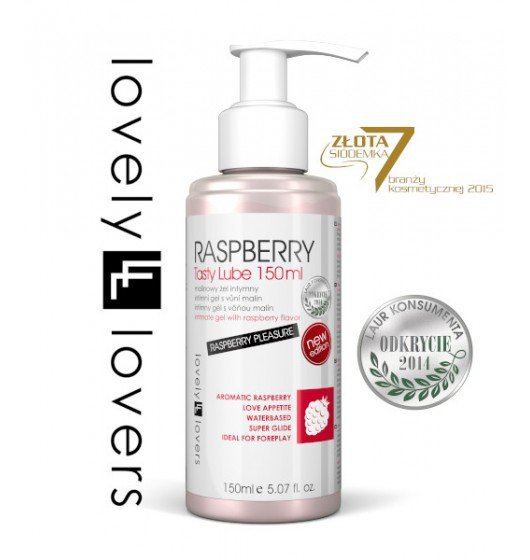 Lovely Lovers Raspberry Tasty Lube 150 ml