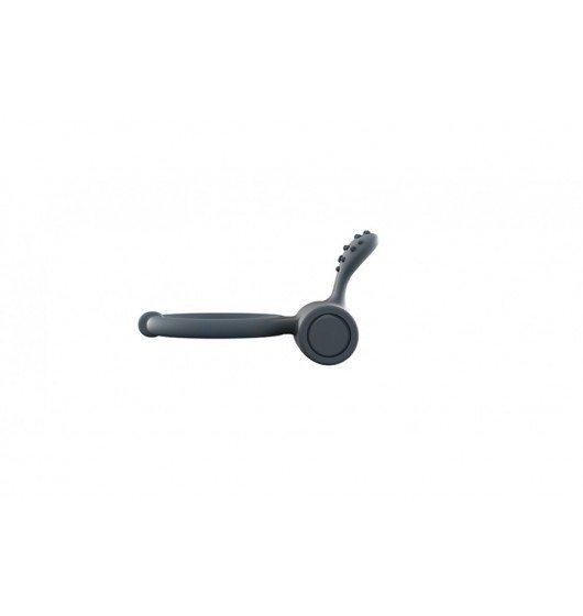 Wibrujący pierścień na penisa - Dorcel - Power Clit + (czarny)