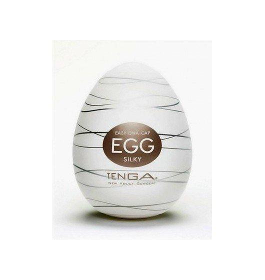 Dyskretny Masturbator - Tenga Egg - Silky