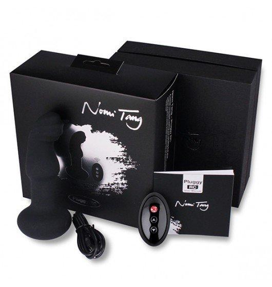 Wibrująca Zatyczka Analna Na Pilota Nomi Tang Pluggy Rotating & Vibrating Butt Plug RC