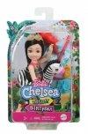 Lalka Barbie Chelsea Wakacyjna Czarne włosy
