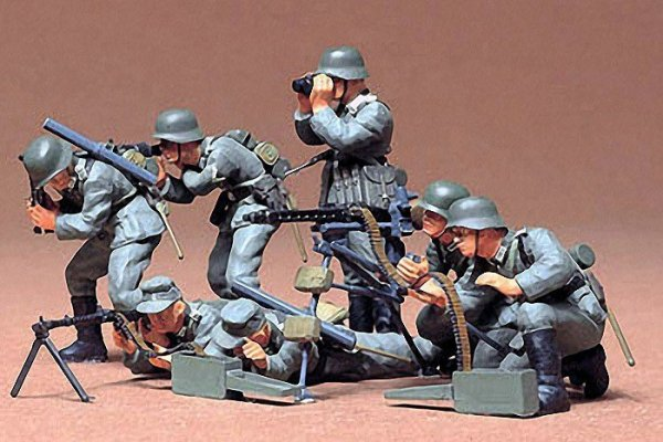 German Machine Gun Troops