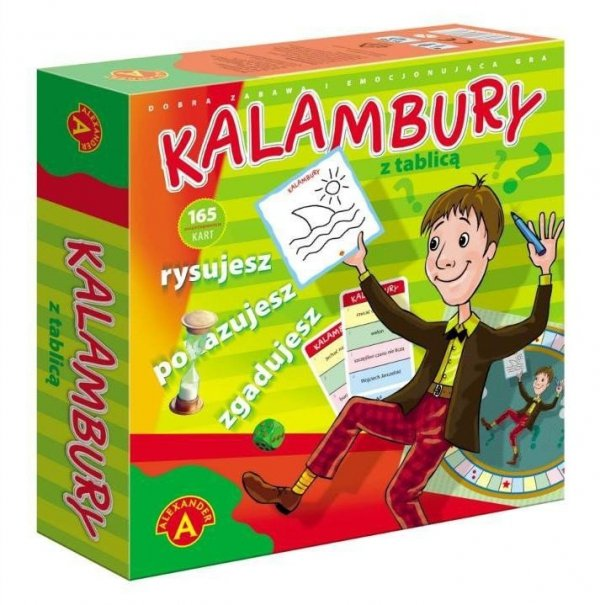 Gra Kalambury z tablicą