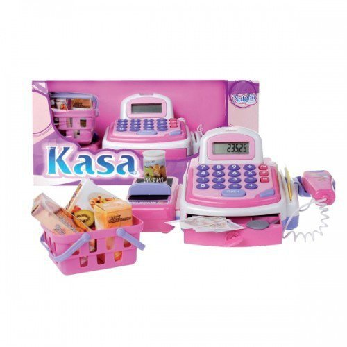 Natalia Kasa z kalkulatorem