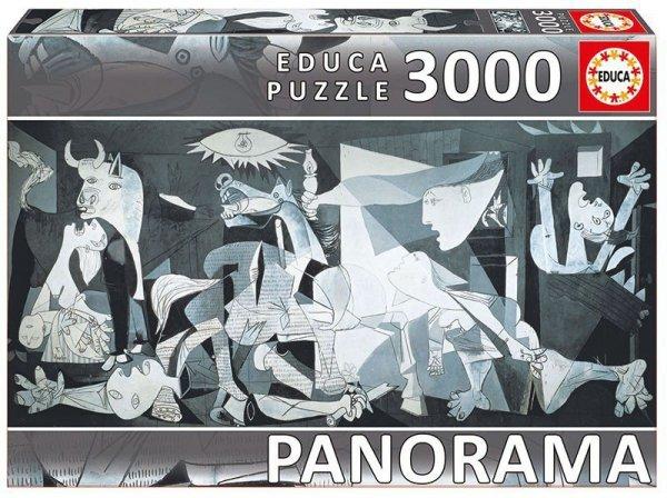 Puzzle 3000 elementów Guernica, Pablo Picasso panorama
