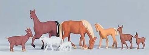PIKO Figurki Zwierząt Domowych 8 szt