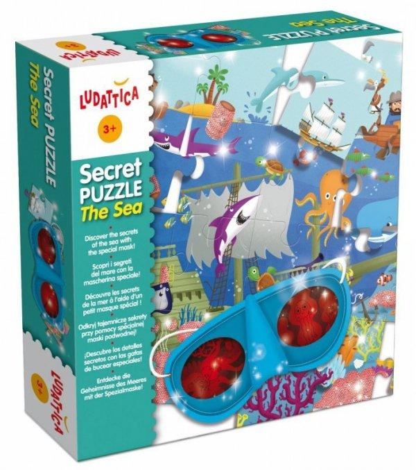 Ludattica Sekretne puzzle - morze