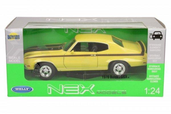 Buick GSX 1970, żółty