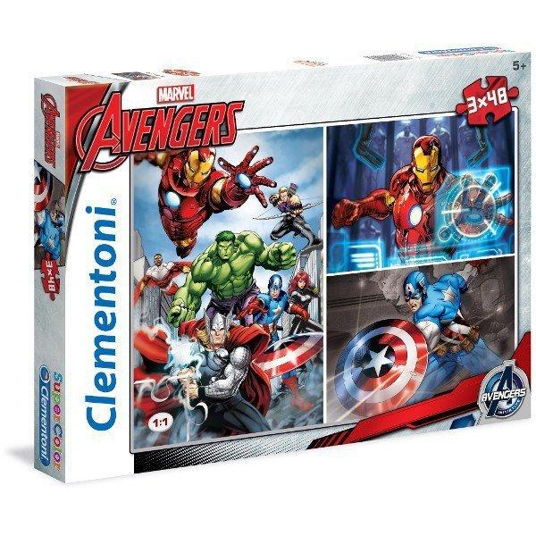 3x48 ELEMENTÓW The Avengers