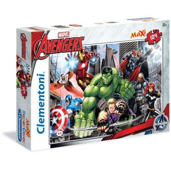 104 ELEMENTY MAXI The Avengers