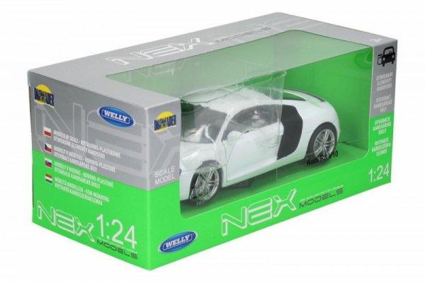 Audi R8, białe