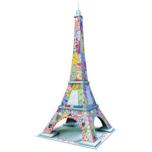 216 ELEMENTÓW 3D Eiffel Tower Tula Moon