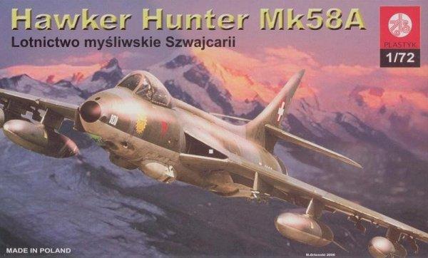 PLASTYK Hawker Hunter Mk58A