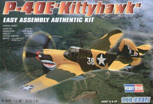 HOBBY BOSS P-40E Kittyha wk