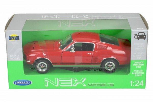 Ford Mustang GT, czerwony
