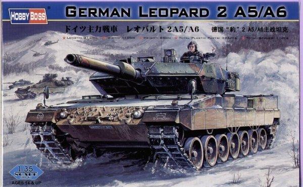 Model do sklejania German Tank Leopard 2 A5/A6